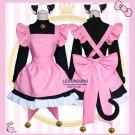 Card Captor Sakura Cosplay Costumes Cat Cute Cardcaptor Sakura Women Lolita Maid Dress
