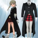 SOUL EATER Cosplay Costumes Maka Albarn Uniforms Women Fancy Party Dress Set for Halloween