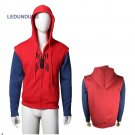2017 Movie Spider-Man Homecoming Coat Peter Parker Cosplay Hoodies Men Sweatshirt SpiderMan Jackets
