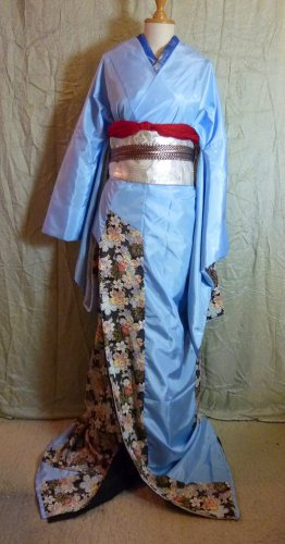 Sorawa Furisode: Custom Made Kimono