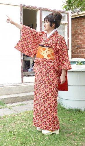 Red Kimono Rental