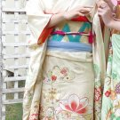 White Furisode Kimono Rental