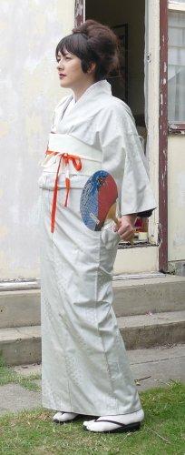 Cream Kimono Rental