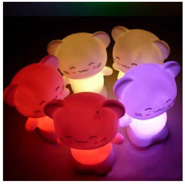 1PC CAT LED NIGHT LIGHT