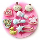 BABY CANDY CAKE SILICONE MOLD
