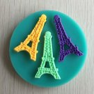 eiffel tower cake soap silicone mold