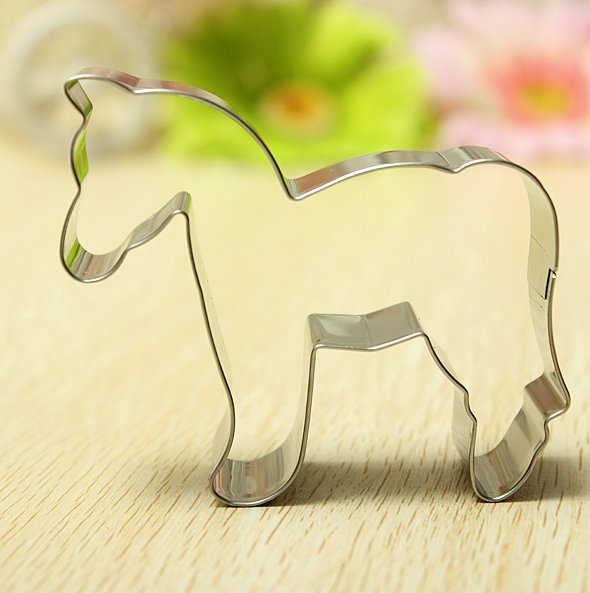 horse shape cookie cutter