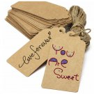 50pcs paper gift tags #1