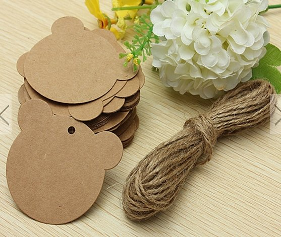 50pcs paper gift tags #3