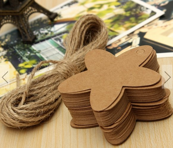 50pcs paper gift tags #4