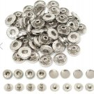 50 pieces snap buttons,metal