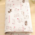 1 piece cat Cotton Linen Cloth