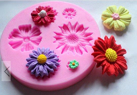 flower fashion silicon mould f235