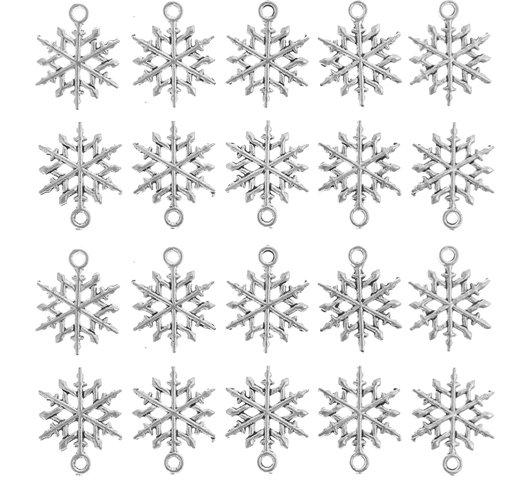 30pcs diy jewelry christmas charm pendants