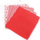 5pcs sewing diy doll clothes fabric