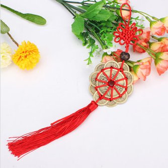 feng shui lucky coins decoration