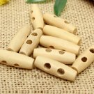 50pcs wooden button sewing accessories