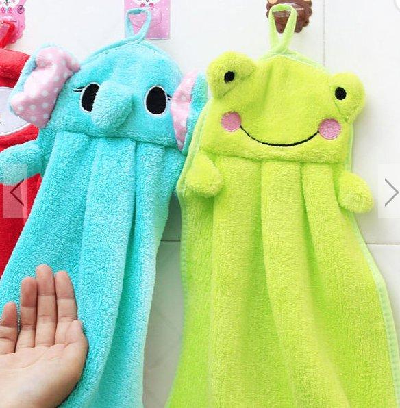 1pc hand cartoon towel