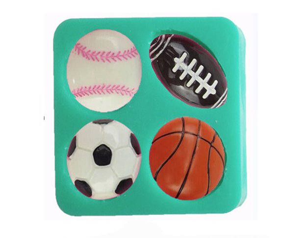 fashion women shape cookie cake ball silicone mold