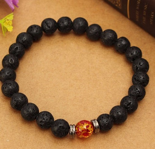 black head bracelet