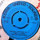 "CITY SOUND BAND 7"" nihaku mwande pt 1 & 2 KENYA UNITED SOUNDS"