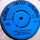 "CITY SOUND BAND 7"" ciani ithome / kiria nguheaga KENYA UNITED SOUNDS"