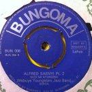"""WEBUYE YOUNGSTARS JAZZ BAND 7"""" alfred saenyi pt 1 & 2 BUNGOMA 45 vinyl"""