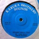 "KARURA BROTHERS 7"" ndungithekia tuhu / ruta ni KARURA BROTHERS SOUNDS vinyl 45"