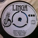 ORCH POPO LIPO 7&quot; amad saad pt 1 & 2 LINGA vinyl 45