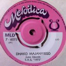 TPS 1972 7&quot; veronika / dhako majanyiego MELODICA vinyl 45