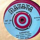 "KIT MIKAYI CISCO JAZZ BAND 7"" bonn olocho balla / karafuu MATATA vinyl 45"