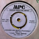 "ORCH TODDY NATIONAL 7"" wageni wa miaka pt 1 & 2 MPC 45 vinyl"