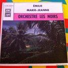 """ORCHESTRE LES NOIRS 7"""" emilie - marie jeanne PATHE 45 single vinyl"""