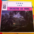 "ORCHESTRE LES NOIRS 7"" toma PATHE 45 single vinyl"