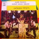 "ORCHESTRE SINZA 7"" marie franca - auguy mama PATHE 45 vinyl single RUMBA CAVACHA CONGO ZAIRE"