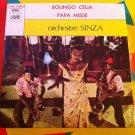 "ORCHESTRE SINZA 7"" bolingo celia - papa missa PATHE 45 vinyl single CONGO ZAIRE"