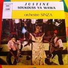 """ORCHESTRE SINZA 7"""" justine - soukouss ya wawa PATHE 45 vinyl single CONGO ZAIRE"""