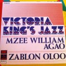 "VICTORIA KING'S JAZZ 7"" mzee - zablon PATHE 45 single vinyl"