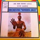 "ORCHESTRE VIPERE JAZZ 7"" jane marie bolingo - rose SOUKOUSS CONGO 45 vinyl PATHE EMI"