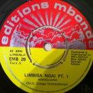 ORCH CONGA INTERNATIONAL 45 limbisa pt 1 & 2 EDITIONS MBONDA