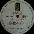 GRACE SIMON LP air mata RARE INDONESIA PROMO MUSICA
