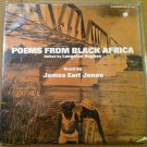 LANGSTON HUGHES LP poems from black Africa JAMES EARL JONES - CAEDMON poetry