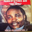 FRANCO & TP OK JAZZ LP tres impoli CONGO NM