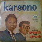 KARSONO BERSAUDARA 45 EP untuk negara RARE INDONESIA 60's IRAMA mp3 LISTEN*