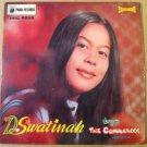 D SWATINAH & THE COMMANDOS 45 EP senyum tak berbalas INDONESIA PANDA RECORDS