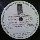 ANDI MERIEM MATTALATTA LP bimbang RARE INDONESIA PROMO MUSICA SOUL JAZZ