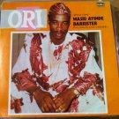 ALHAJI CHIEF BARRISTER LP ori NIGERIA mp3 LISTEN