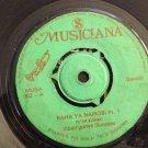 ABAN'GONYA SUCCES 45 raha ya Nairobi pt 1 & 2 MUSICIANA