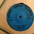CITY SOUND BAND 45 safari ya Japan pt 1 & 2  KENYA UNITED SOUNDS