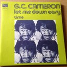 "GC CAMERON 45 let me down easy - time TAMLA MOTOWN FRENCH 7"" PS NM"